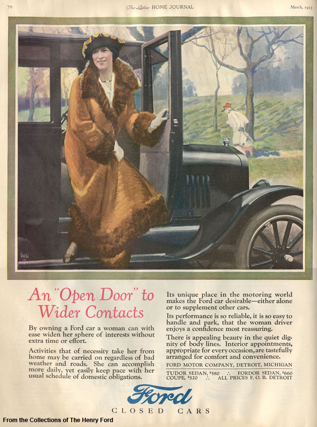 1925 Ford Advertisement