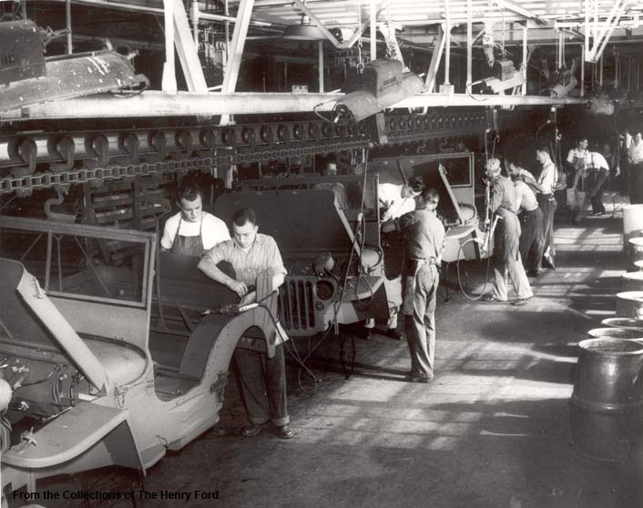 Ford Rouge Plant >> War Production